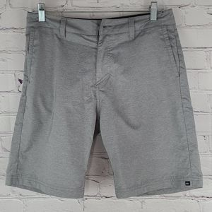 Quicksilver Amphibians Gray Shorts Size 29